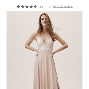 BHLDN Sadia Dress for party, formal, or bridesmaid